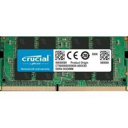 8GB DDR4 2666 MT/s (PC4-21300) CL19 SR x8 Crucial Unbuffered SODIMM...