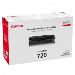 Canon originál toner CRG-720, black, 5000str., 2617B002, Canon MF-6680