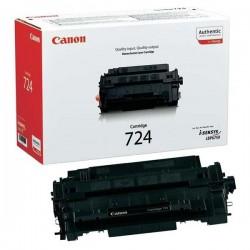 Canon originál toner CRG-724, black, 6000str., 3481B002, Canon i-SENSYS LBP-6750dn