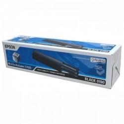 Epson originál toner C13S050190, black, 4000str., Epson AcuLaser C1100, 1100N, CX11N, 11NF, 11NFC