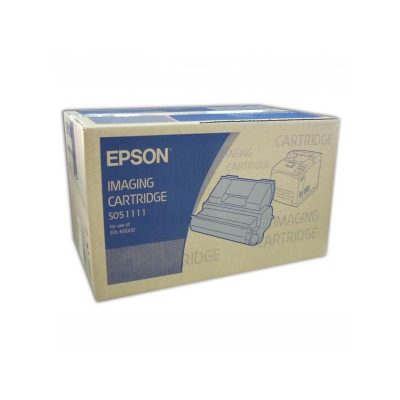 Epson originál toner C13S051111, black, 17000str., Epson EPL-N3000, 3000D, 3000DT, 3000DTS, 3000T