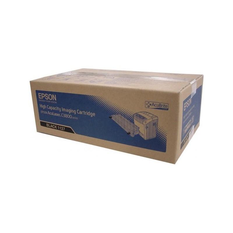 Epson originál toner C13S051127, black, 9500str., Epson AcuLaser C3800DN, 3800DTN, 3800N