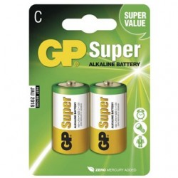 GP Batéria alkalická SUPER C 2ks R14 2BL 1013312000
