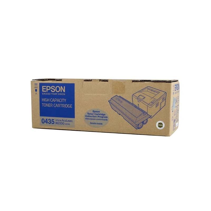 Epson originál toner C13S050435, black, 8000str., high capacity, Epson AcuLaser M2000D, 2000DN, 2000DT, 2000DTN