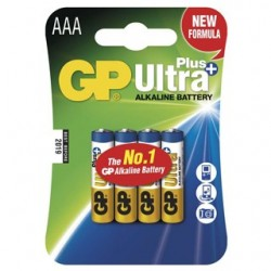 GP Batéria AAA 24AUP LR03 BL 4ks 1017114000