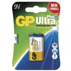 GP Batéria Ultra Alkalická Plus 9V 1ks 1604AUP BL 1017511000
