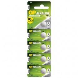 GP Batérie alkalické gombíkové A76F 5ks 1,5V 110MA 1041007615