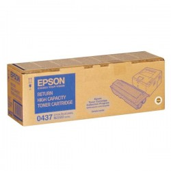 Epson originál toner C13S050437, black, 8000str., return, Epson AcuLaser M2000D, 2000DN, 2000DT, 2000DTN