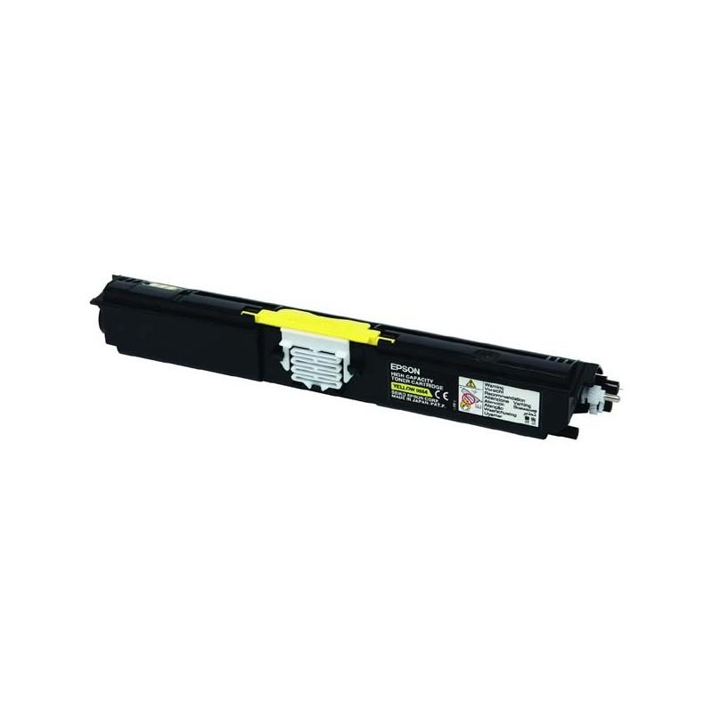 Epson originál toner C13S050554, yellow, 2700str., return, Epson AcuLaser C1600, CX16