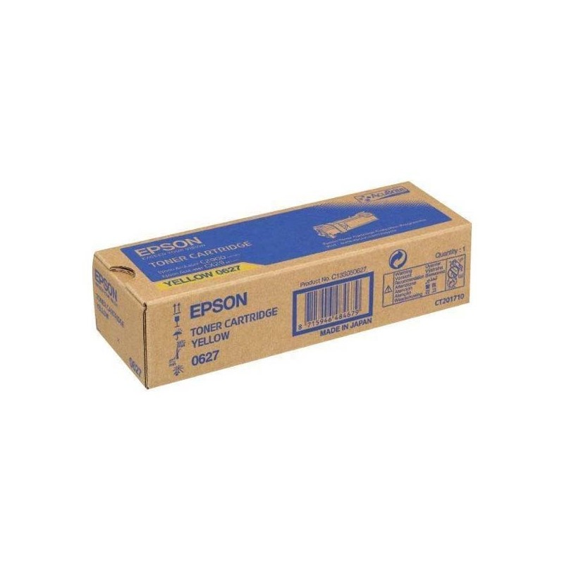 Epson originál toner C13S050627, yellow, 2500str., Epson Aculaser C2900N
