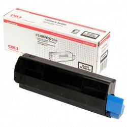 OKI originál toner 42804540, black, 3000str., OKI C3200