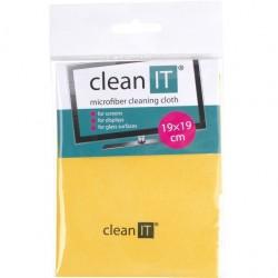 CLEAN IT Čistiaca utierka z mikrovlákna 19x19 ye CL-712