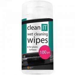 CLEAN IT čistiacie ubrúsky mokré na LCD/TFT 100ks CL-140