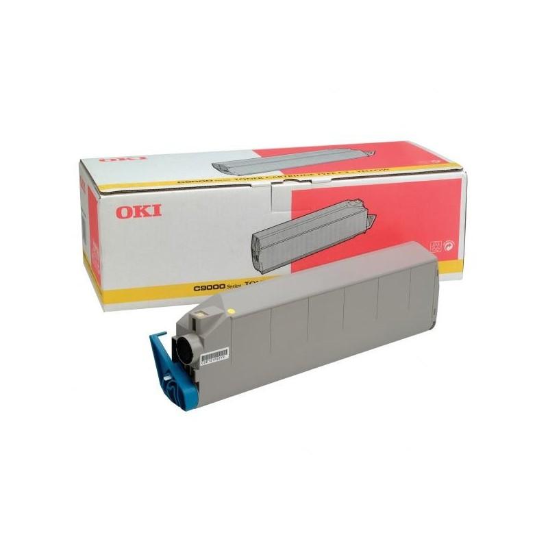 OKI originál toner 41515209, yellow, 15000str., OKI C9000, 9200n, dn, 9400, TYP C3