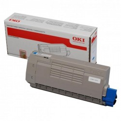 OKI originál toner 44318607, cyan, 11500str., OKI C710, C711