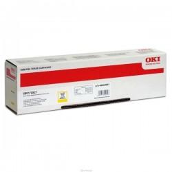 OKI originál toner 44643001, yellow, 7000str., OKI C801, C821