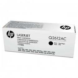 HP originál toner Q2612AC, black, 2000str., 12A, HP LaserJet 1010, 1012, 1015, 1020, 1022, 3015, 3020, kontraktový produkt