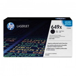 HP originál toner CE260X, black, 17000str., 649X, high capacity, HP Color LaserJet CP4525