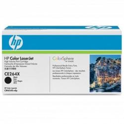 HP originál toner CE264X, black, 17000str., 646X, HP LaserJet CM4540