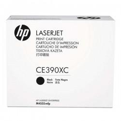 HP originál toner CE390XC, black, 24000str., HP Enterprise M4555, kontraktový produkt