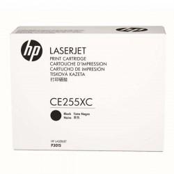 HP originál toner CE255XC, black, 12500str., 55X, HP LaserJet...