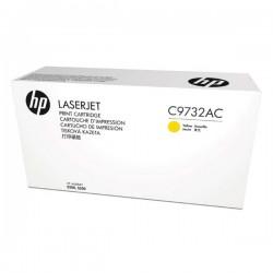 HP originál toner C9732AC, yellow, 12000str., 645A, HP Color LaserJet 5500, N, DN, HDN, DTN, kontraktový produkt