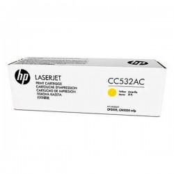 HP originál toner CC532AC, yellow, 2800str., 304A, HP Color LaserJet CP2025, CM2320, kontraktový produkt