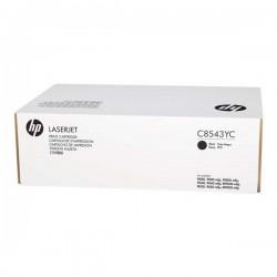 HP originál toner C8543YC, black, 30000str., HP LaserJet 9000, 9040, 9050, N, DN, mfp, kontraktový produkt