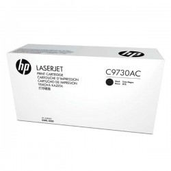 HP originál toner C9730AC, black, 13000str., 645A, HP Color LaserJet 5500, N, DN, HDN, DTN, kontraktový produkt