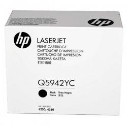 HP originál toner Q5942YC, black, 23000str., extra high capacity, HP LaserJet 4250, 4350, kontraktový produkt