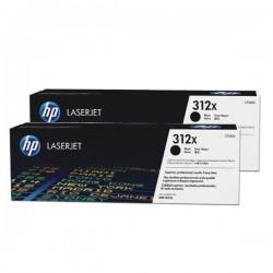 HP originál toner CF380XD, black, 2x4400str., 312X, HP Color LaserJet Pro MFP M476dn, MFP M476dw, MFP M47, Dual pack 1440g