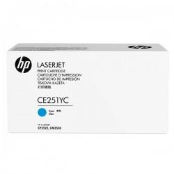 HP originál toner CE251YC, cyan, 7900str., HP Color LaserJet CP3525, kontraktový produkt