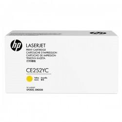 HP originál toner CE252YC, yellow, 7900str., HP Color LaserJet CP3525, kontraktový produkt