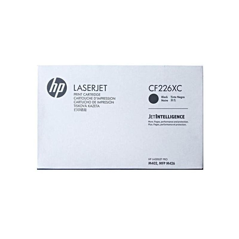 HP originál toner CF226XC, black, 9000str., 26X, HP HP LJ Pro M402, HP LJ Pro MFP M426, 930g, kontraktový produkt
