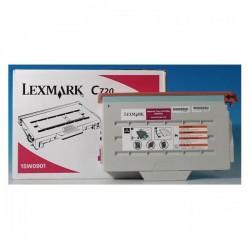 Lexmark originál toner 15W0901, magenta, 7200str., Lexmark C720, X720 MFP