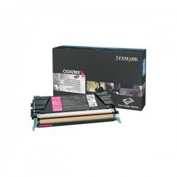 Lexmark originál toner C5342MX, magenta, 7000str., Lexmark C534x