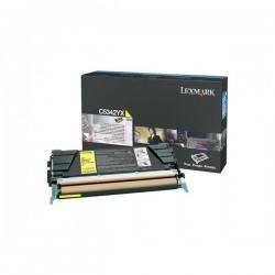 Lexmark originál toner C5342YX, yellow, 7000str., Lexmark C534x
