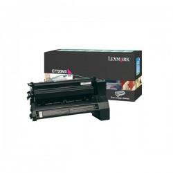 Lexmark originál toner C7720MX, magenta, 15000str., return, Lexmark C772