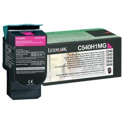 Lexmark originál toner C540H1MG, magenta, 2000str., return, high...