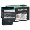 Lexmark originál toner C540H1KG, black, 2500str., return, high capacity, Lexmark C540, X543, X544, X543, X544