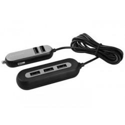 AVACOM CarHUB nabíječka do auta 5x USB výstup, černá NACL-CH5X-KK
