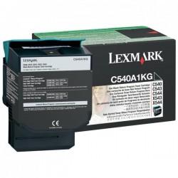 Lexmark originál toner C540A1KG, black, 1000str., Lexmark C540, X543, X544, X543, X544