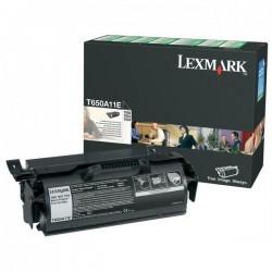 Lexmark originál toner T650A11E, black, 7000str., return, Lexmark T650DN