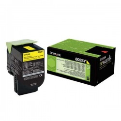 Lexmark originál toner 80C2SY0, yellow, 2000str., return, Lexmark...
