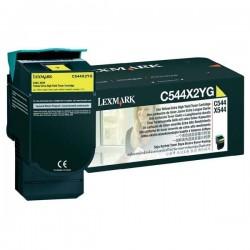 Lexmark originál toner C544X2YG, yellow, 4000str., Lexmark C544, X544