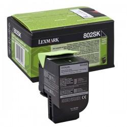 Lexmark originál toner 80C2SK0, black, 2500str., return, Lexmark CX310dn, CX310n, CX410de, CX410
