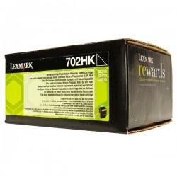 Lexmark originál toner 70C2HK0, black, 4000str., return, high...