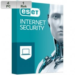 ESET Internet Security 2021 4PC na 1r EIS 2021 pre 4 PC na 1 rok SK