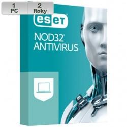 ESET NOD32 Antivirus 2021 1PC na 2r ENA 2021 pre 1 PC na 2 roky SK