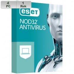 ESET NOD32 Antivirus 2021 4PC na 1r ENA 2021 pre 4PC na 1 rok SK